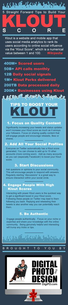 5 Straight Forward Tips to Build Your Klout Score