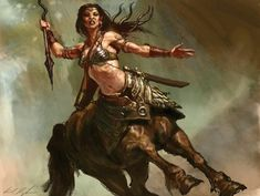 It's thought that many of Shalara's humanoid creatures and races, like centaurs, can trace their origins to the Beastmen. For some, like centaurs, rowen, and nagine, this is truth. But for others, like merfolk and Wielvine, it is false. Because of selective breeding and their own unique genetic structure, creatures like centaurs branched off from the Beastmen and became their own separate race.