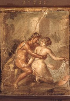 Satyr Embracing a Nymph (Pompeii) courtesy Barbican Art Gallery
