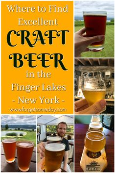 Where to find excellent craft beer in the Finger Lakes, New York New York Travel, Travel Usa, Canada Travel, York Things To Do, Seneca Lake, Finger Lakes, Journey Quotes, Foodie Travel, Cool Places To Visit
