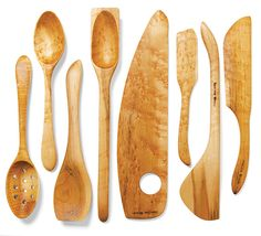 Wooden Utensils by Marcel Dionne of Imagine Wood