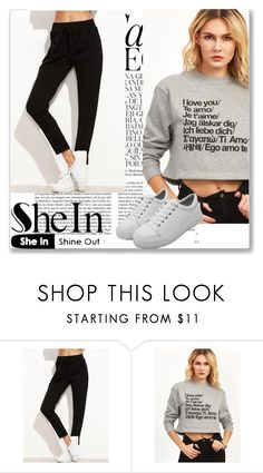 """""""Shein 2./5"""" by passionforstyleandfashion ❤ liked on Polyvore featuring Whiteley, Sheinside and shein"""