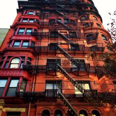 Beautiful architecture in Brooklyn Heights.