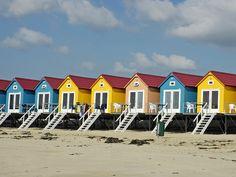 Beach Huts, Vlissingen, Zeeland, Vlissingen, Netherlands