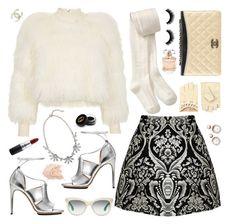 """""""Chanel #1"""" by samhoran95 on Polyvore featuring moda, Alice + Olivia, Topshop Unique, Chanel, Miu Miu, Old Navy, Calvin Klein, ASOS, MAC Cosmetics e Gucci"""