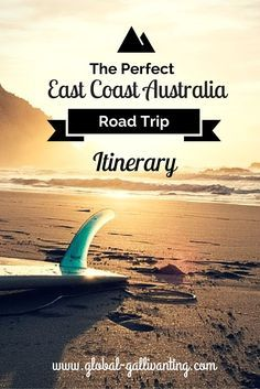 The East Coast of Australia is the most popular route for backpacking and traveling Oz and for good reason – it offers so much to see and do! This route will give you a great taste of everything Australia has to offer from cosmopolitan cities, iconic sites, and world class natural wonders, pristine beaches and ancient rainforests. Here's where to go, what to see and how to experience the ultimate East Coast Australia Road Trip! Tour Du Monde, Australia Trip, Coast Australia, Visit Australia, Hello Australia, Cairns Australia, South Australia, Melbourne Australia, Travel Oz