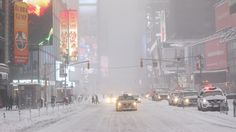 Winter Storm in New York.  weather.com
