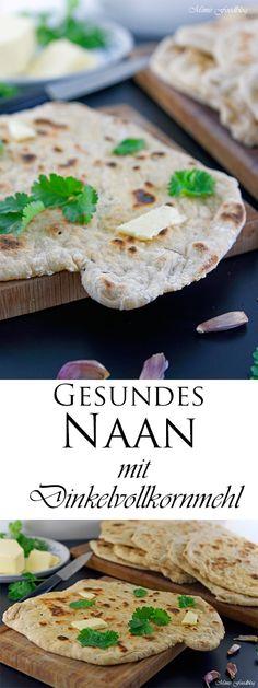 Naan ist eine indische Brotsorte, die ähnlich wie ein Fladenbrot, sehr flach ist. Der geschmack ist knusprig und Naan ist eine gute Beilage zu Eintöpfen.
