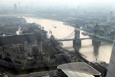 A view of the Tower of London and Tower Bridge from the Sky Garden (Photo: Stu Robarts/Giz...