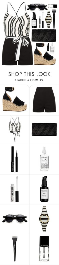 """You Know the Drill"" by virginia-laurie ❤ liked on Polyvore featuring Chloé, La Perla, Alice + Olivia, Jessica McClintock, Giorgio Armani, A Weathered Penny, NYX, Root Science, Kate Spade and Lancôme"