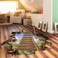 GET $50 NOW | Join RoseGal: Get YOUR $50 NOW!http://www.rosegal.com/wall-decoration/creative-removable-3d-drawbridge-bedroom-757034.html?seid=7159197rg757034