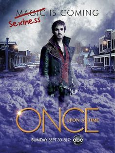 Sexiness is Coming. #OnceUponaTime, #Captain Hook, #OUAT
