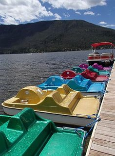 Paddleboats on Grand Lake – a fun summertime diversion! Paddleboats on Grand Lake – a fun summertime diversion! Grand Lake Lodge, Grand Lake Colorado, Winter Park Colorado, Road Trip To Colorado, Estes Park Colorado, Colorado Springs, Family Fun Places, Denver Travel, Travel Oklahoma
