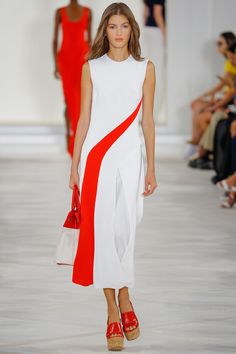 Ralph Lauren Spring 2016 Ready-to-Wear Fashion Show - Valery Kaufman
