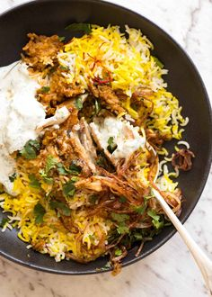 Biryani is a celebration of all that is great about Indian food! The aromas, the vibrant colour, that fluffy rice. Choose from a chicken biryani, vegetable biryani or other protein of choice. # Healthy Recipes on the go Biryani Bbc Good Food Recipes, Indian Food Recipes, Asian Recipes, Cooking Recipes, Dinner Recipes, Healthy Indian Food, Indian Chicken Recipes, Cooking Corn, Cooking Salmon