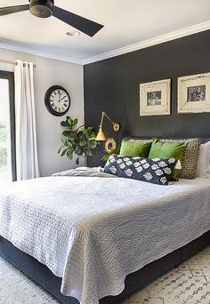 Budget-friendly ideas to spruce up your bedroom for summer! #summerdecor #summerupdates #summerbedroom #bedroomdecor Small House Decorating, Summer Decorating, Decorating Tips, Bedroom Inspiration, Bedroom Ideas, Bedroom Decor, Condo Design, Interior Design, Duvet
