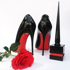 """Christian Louboutin """"So Kate"""" In Black Patent - For More Fashion Pictures Check Out @fashionbymnp on Instagram or fashionbymnp.blogspot.co.uk"""