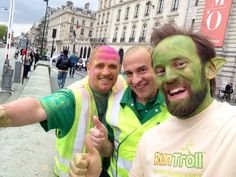 Cool guys that will clean up the colors. Thanks to all people working with this race, was awesome watching it all. Thumbs up from Run Troll #ColorRunParis #ColorRun
