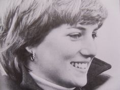 Lady Diana Spencer-At Ludlow, Shropshire, on 24 October 1980,