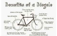 10 Infographics on Bikes and Biking | EcoSalon | Conscious Culture and Fashion