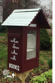 This Little Free Library book exchange is stewarded by Sara H. in Rochester IL. Source by