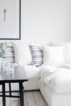 looove the pillows. wish i could have a white couch but that would be a disaster.