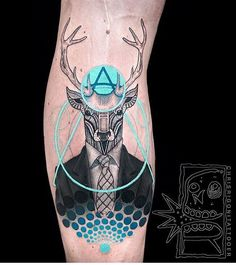 #Tattoo by @chrisrigonitattooer  ___ www.EQUILΔTTERΔ.com ___  #Equilattera
