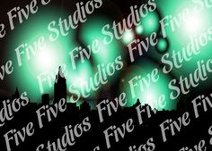 Cityscape Lights  Desktop Wallpaper by FiveFiveDesigns on Etsy, $0.99