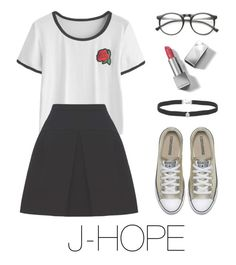 """j-hope bts outfit"" by mazera-kor on Polyvore featuring мода, Miu Miu, Burberry, Amanda Rose Collection, outfit, bts, Jhope и hoseok"