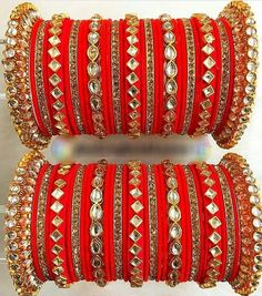 Determing the best rings for your special someone is reasonably hard although if you know where to search and the most recent trend of jewelry these days, it is comparatively easy. Silk Thread Bangles Design, Silk Bangles, Bridal Bangles, Thread Jewellery, Bridal Jewelry, Silver Jewelry, Women's Jewelry, Fine Jewelry, Jewelry Ideas