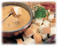 Cheddar and Bacon Fondue