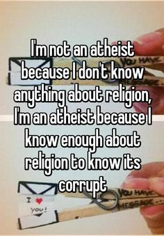 21 People Who Are Happy Being Atheists