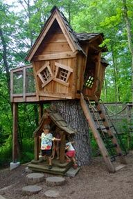 tree houses for boys - Google Search
