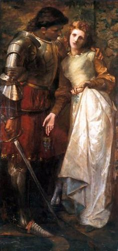 Ophelia and Laertes by William Gorman Wills (1828-1891)