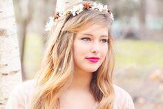 La corona di fiori, vero accessorio-simbolo della sposa boho-chic: i consigli di Zankyou per essere regine con corona!