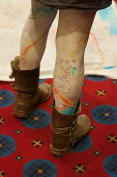 Nikki was a hit too with her watercolor stockings and blankets (coming soon!) based on Open Street Map data and meshu necklaces. A big year for custom objects based on open data!