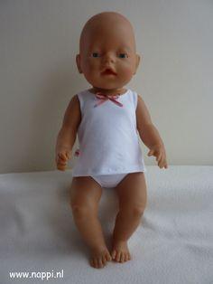 Bed en bad / Baby Born 43 cm | Nappi.nl Eigen ontwerp
