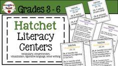 #tpt #tptpins #hatchet #literacy #centers