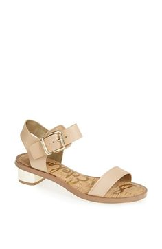 Sam Edelman 'Trina' Sandal   Nordstrom -- I finally picked up these Edelmans that I've been lusting over since last summer (when they sold out all over!); they're the perfect summer sandal.