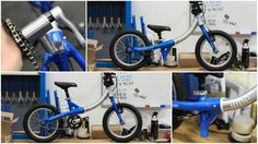 The children's bike accompanies flexible seats and handlebars and is incredibly lightweight for the children to have the option to oversee without anyone else whenever required.