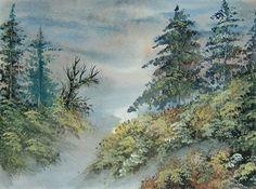watercolour landscape art painting (ref 203) £15.00