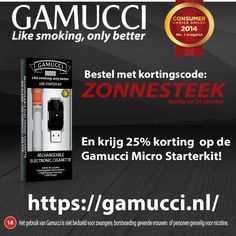 Gamucci Micro Starterkit met 25% korting