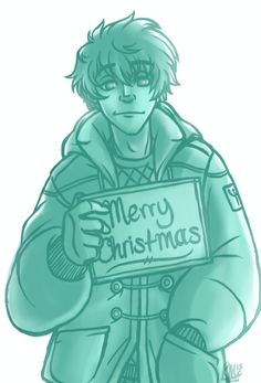 "PJO Countdown to Christmas 25/25 Percy by ""lazyperfs"""