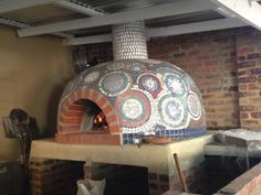 The mosaic pizza oven