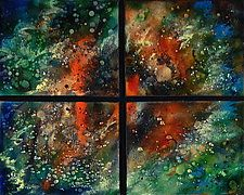 Orion Quartet by Cynthia Miller (Art Glass Wall Sculpture) x Glass Wall Art, Wall Art Decor, Perfect Glass, Wall Sculptures, American Artists, Art Techniques, Stained Glass, Decoration, Painting