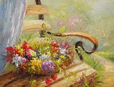 Marchella Piery   Palette Knife painting   Tutt'Art@   Pittura * Scultura * Poesia * Musica  