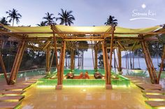 Soneva Kiri is a luxury resort surrounded by untamed jungle and pristine beaches on the island of Koh Kood, Thailand. Amazing Swimming Pools, Rich Life, Experiential, Luxury Living, Luxury Real Estate, Beach Resorts, Luxury Travel, Luxury Lifestyle, Luxury Branding
