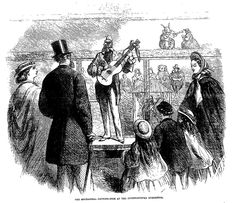 THE MECHANICAL CROWING COCK AT THE INTERNATIONAL EXHIBITION . The Penny Illustrated Paper (London, England), Saturday, August 16, 1862