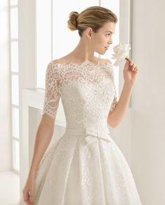 OLGA traje de novia en corte cintura