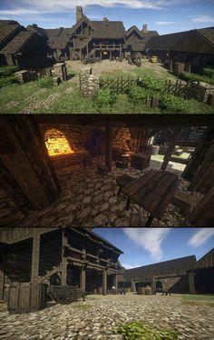 Minecraft Mansion, Minecraft Castle, Minecraft Medieval, Minecraft Interior Design, Minecraft Architecture, Minecraft Images, Minecraft Designs, Minecraft Structures, Minecraft Buildings